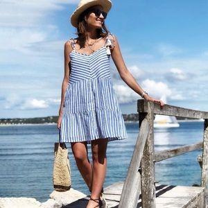 Sezane Félicie tie-strap dress